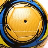 専門の滑り易い革サッカーボールのサイズ4