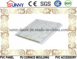 PVC壁パネル、薄板にされたPVCパネル、プリントおよび熱いスタンプの天井板