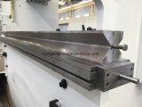 Freno hidráulico de la prensa de la placa de acero de carbón Wc67y-160X6000