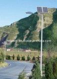 luz de rua solar clara do diodo emissor de luz de 5m pólo 30W