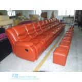 Самомоднейшая кожаный софа Recliner для домашнего театра (DW-2365-3S)