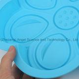 Molde para pasteles Sc53 del silicón del mollete de la flor de DIY