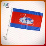 Bandeira feita sob encomenda do carro dos EUA da impressão de Digitas do futebol (HYHF-AF027)