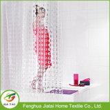 PEVA modernes faits sur commande bon marché effacent le rideau en douche de salle de bains pour la maison