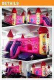 Castello della principessa e del pagliaccio Pink Jumping Inflatable