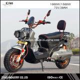 La motocyclette de vente chaude de 2017 E avec la pédale a aidé très le scooter électrique 60V/72V de mode et d'image fraîche