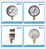 압축기 압력 측정하 진공 압력 측정하 기름에 의하여 채워지는 계기