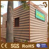 Revestimiento compuesto externo de la pared de las ventas WPC de Guangzhou de la coextrusión caliente del Decking