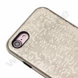 2 en 1 caja protectora de parachoques suave de la caja TPU del teléfono para el iPhone 7