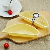 Caixa de bolo Banana-Shaped do amarelo do animal de estimação