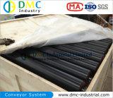 rulli blu del trasportatore dei tenditori del trasportatore dell'HDPE del sistema di trasportatore del diametro di 133mm