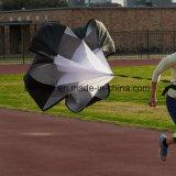 Одиночный идущий парашют тренировки сопротивления скорости парашюта