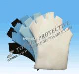 Wegwerfchirurgische Plastikhandschuhe mit Elementaroperation entkeimt