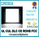 Painel liso ultra fino do diodo emissor de luz da luz de teto 60W do UL Downlight