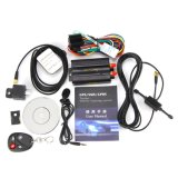 GPS&GSM 실시간 두 배 위치를 가진 Tk103b 차 GPS 추적자 시스템, 원격 제어 Anti-Theft 차량 추적자 GPS103b 상자 없음