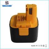 Reemplazo 12V 2000mAh de la batería de la herramienta eléctrica Ni-CD para Panasonic
