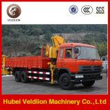 Dongfeng 6*4 faltender Arm 10 Tonnen-LKW eingehangener Kran