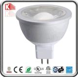 Reflector LED de China Fabricación de 12V AC / DC regulable MR16 7W LED con Base GU5.3 con Energy Star ETL