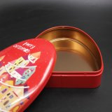Nice Circle Triangle Tinplate Box / Storage Tin (T003-V6)