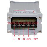 bloc d'alimentation antipluie de l'interpréteur de commandes interactif en aluminium continuel DEL de la tension 24V-60W