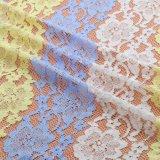 Tessuto chimico caldo del merletto del ricamo per il vestito
