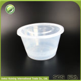 샐러드 수프 국수를 위한 다른 주문 명확한 인쇄된 처분할 수 있는 플라스틱 사발