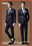 Trファブリックが付いている人のスーツは適当な様式を細くする