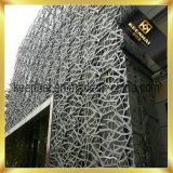 De architecturale Gordijngevel van het Aluminium van de Comités van de Bouw van de Laser Scherpe Buiten