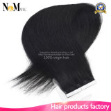La pelle che i capelli umani di trama possono essere riutilizzati può essere estensione tinta dei capelli del nastro del grado 7A
