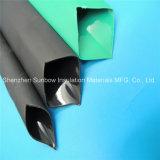 3 : 1 tube thermo-rétrécissable de polyoléfine lourde de mur rayé par adhésif imperméable à l'eau