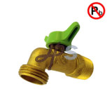 Grifo de cobre amarillo sin plomo estándar del manguito del NSF