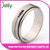 Anillo para los anillos de bodas de los hombres del acero inoxidable de los hombres