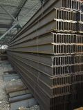 Poutres en double T de construction d'acier du carbone d'utilisation d'élément