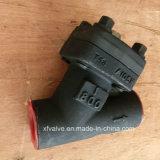 ANSIの標準800lbによって造られる鋼鉄A105糸Yのタイプこし器