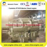 Motor diesel del motor marina de Cummins 671~820kw (Cummins KTA38-M1-900/KTA38-M1-1000/KTA38-M1-1100)