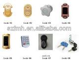 1-6ドアの電子ロックの防水ロッカー