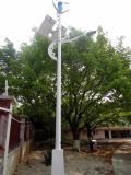 Gerador de vento independente e módulo solar para o sistema da luz de rua