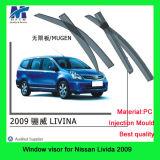 Забрала дождя для автомобиля Windows для Nissan Livida 2009