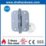 Charnière du matériel solides solubles de porte avec le coin rond