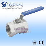 1PC Edelstahl Reduced Port Ball Valve Indien Type