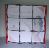 Tecido Pop-up Stand with End Cap