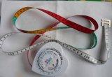 Ruban métrique d'INDICE DE MASSE CORPORELLE de forme de coeur (ASJ52)