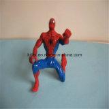 3D nombre d'actions jouets d'intérieur de gosse de cour de jeu de PVC d'araignée en plastique