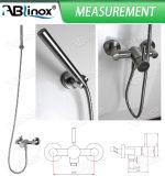 Chuveiro do aço inoxidável ajustado (AB201)