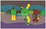 Strumentazione di plastica esterna del campo da giuoco della sosta residenziale di marca di Kaiqi con le multi trasparenze sicure