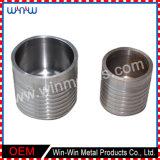 Latón del tratamiento de metales de aleación de titanio de acero inoxidable Dibujo de torneado de piezas