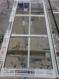 Indicador de deslizamento de vidro de alumínio com rede de mosquito