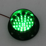 주문을 받아서 만들어진 82mm 소통량 램프 녹색 LED 신호등