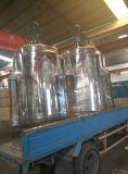 Большой напольный горизонтальный бак для хранения нержавеющей стали