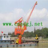Hydraulischer sich hin- und herbewegender Boots-Kran mit Zupacken